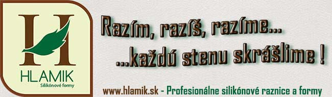 HLAMIK.sk Silikónové raznice a formy